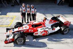 Jenson Button, Anthony Davidson, Rubens Barrichello, Honda, Istanbul Park, 2006