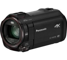 PANASONIC HC-VX870EB-K 4k Ultra HD Camcorder - Black, Black Price: £ 529.00 With up to four times the resolution of Full HD recording, the Panasonic HC-VX870EB-K 4k Ultra HD Camcorder will capture your videos in beautiful clarity. Advanced 4K UHD resolution The VX870 lets you record in 4K for exceptional video quality. Footage can also be down-converted to Full HD giving your videos even...