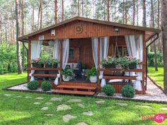 Moje sposoby na wyjątkowy klimat. Hut House, Tiny House Cabin, Tiny Houses, Bamboo House Design, Small House Design, Tropical House Design, Philippines House Design, Bahay Kubo Design Philippines, Pavillion