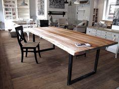 esstisch naturholzplatte baumkante holztisch baumtisch eichentisch massivholztisch unverleimt. Black Bedroom Furniture Sets. Home Design Ideas