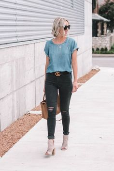 What to Wear When You Dont Know What to Wear - 10 Easy Outfit Formulas Using Whats in Your Closet - Straight A Style