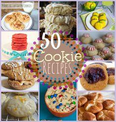 50 cookie recipes