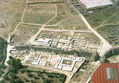 Fotografia aérea das Ruínas de Conimbriga