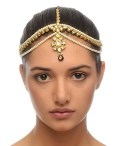 ANJALI JAIN Kundan Matha Patti via exclusively.in