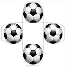 Soccer Party, Soccer Ball, Paper Box Template, Football Birthday, Party Desserts, Baby Party, Holidays And Events, Parties, Corsets