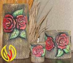 YLEANA CANDLES: Linea Floral