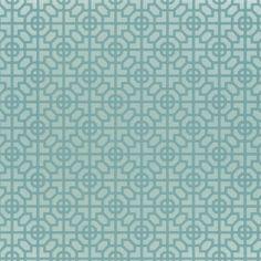 sussex - azure wallpaper | Designers Guild