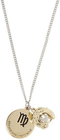 b3f076e656496f BCBGeneration Virgo Zodiac Pendant Necklace Was $25 Now $12.50  http://Shopstyle.it