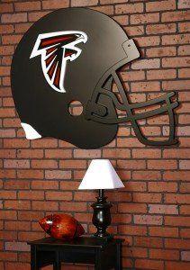 Atlanta Falcons NFL Football Helmet Art « StoreBreak.com – Away from the busy stores