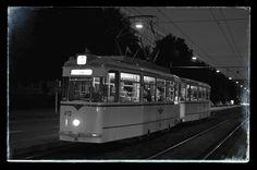 Historischer Triebwagen der MVB