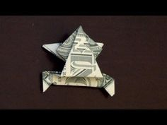 Dollar Origami Jumping Frog - Keep forgetting the instructions and finally found the same version as what I use