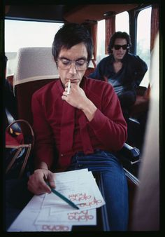 """thiswillbeouryear:  Iggy Pop during the """"Lust for Life"""" tour through the United States, 1978"""