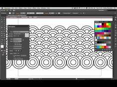 Create Patterns with Adobe Illustrator CS6 (#adobe #illustrator #design)