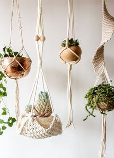 Macrame Plant Hanger Handmade Cotton Rope Wall Hangings Home Decor,30'L ** Read more reviews of the product by visiting the link on the image-affiliate link. #Tapestries
