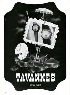 Franco Grignani  Tavannes  Progetto grafico di Franco Grignani, (1908-1999).