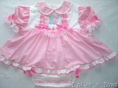 4688f92bb Adult Baby Sissy ~ Care Bear Onesie Dress ~You Choose Care Bear ~ Binkies n