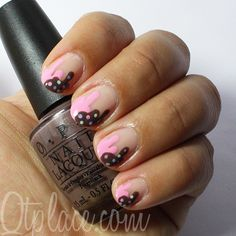 Melted ice cream nail art tutorial + pics | Qtplace