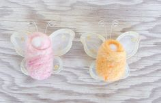 Little girls love their fairy crafts, but have they ever heard of baby fairies? This precious Fairy Baby Felt Craft for Kids will completely melt your heart and you little girls' hearts as well. Felt Fairy, Baby Fairy, Fairy Crafts, Felt Crafts, Camping Crafts For Kids, Kids Crafts, Needle Felting Tutorials, Project Free, Summer Crafts