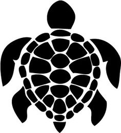 Free Shipping - Large Sea Turtle - Wall Art - Vinyl Decal - 28 x 28 -  $9.99