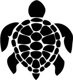 Free Shipping - Large Sea Turtle - Wall Art - Vinyl Decal - 28 x 28 -  $9.99