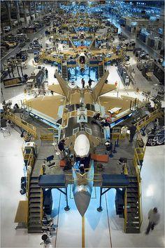 Building an F-22 Raptor