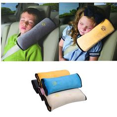 Baby Auto Pillow Car Safety Belt Protect Shoulder Pad adjust Vehicle Seat Cushion For only $6.79  Material: Micro-suede fabric Filling: PP Size: 28cm x 12cm x 9cm Weight: 85g Color: Gray,Pink,Blue,Yellow,Beige
