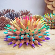 Wow...would be pretty hard to color with this pencil-spike-ball-thingy!   by jenmaestre on Etsy