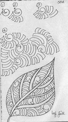 LuAnn Kessi: Sketch Book......Leaf Design 6