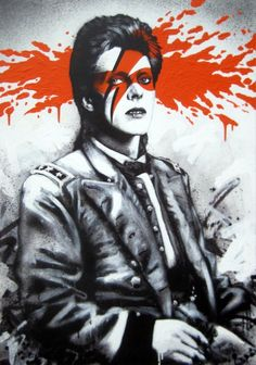 Fin DAC – Rock Stars Portraits  Bowie
