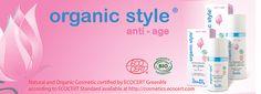 Dzintars Organic style anti-age linie, ECOCERT biocosmetics, www.plumeria.sk