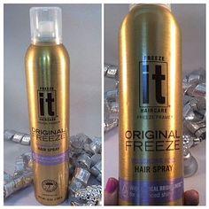 It Original Freeze Volumizing Hair Spray Review