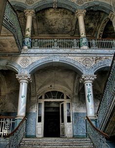 Abandoned. It's so cool.