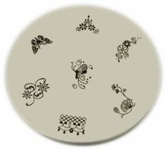 Konad Stamping Nail Art Image Plate - M39 by KONAD Nail Art. $5.19. KOnad Design Plate. Konad nail art stencil with 7 designs.