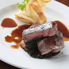 Antelope, elk and moose are equally delicious in this Grilled Deer Loin Recipe. A brown sugar glaze keeps the meat tender and juicy while it cooks.