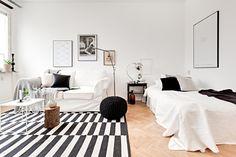 Pinterest Nuggwifee White Studio Apartment Design Living Cat