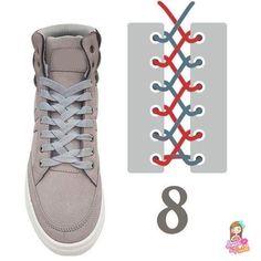 21 Ideas For Diy Clothes Lace Ideas Ways To Lace Shoes, How To Tie Shoes, Your Shoes, Basket Originale, Creative Shoes, Men Style Tips, Diy Clothes, Me Too Shoes, Ideias Fashion