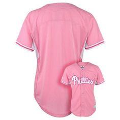 Girls 4-6x Majestic Philadelphia Phillies Batting Practice MLB Jersey $12.00