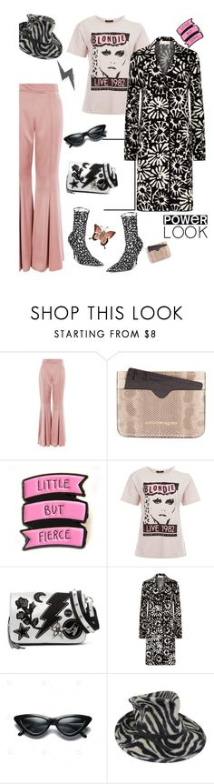 """Butterflies and Zebras'"" by dianefantasy ❤ liked on Polyvore featuring Topshop, Alexander McQueen, Steve Madden, Tory Burch, Philip Treacy, Balenciaga and MyFaveTshirt"