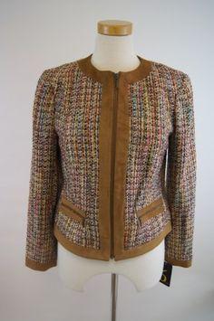 6 by Six Autumnal Tweed Jacket