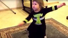This baby attempting to dance is all of us right now