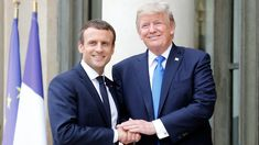 French President Emmanuel Macron said Wednesday that France would cover the amount the U.S.