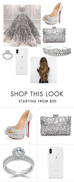 """15 anos."" by manoeladeaguiar-farias ❤ liked on Polyvore featuring Christian Louboutin, Bliss Diamond and Rebecca Minkoff"