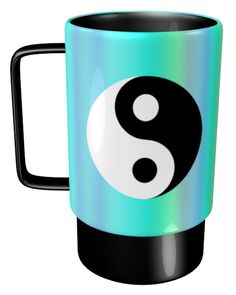 Yin Yang Mug / #Tableware