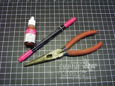 How to re-inking Stampin' Up markers