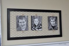 She's crafty: I love...decorating with family photos and a blog hop