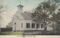 Early village schoolhouse.