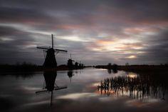 Early windmills of Kinderdijk