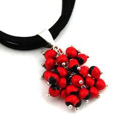 Huayruro Necklaces