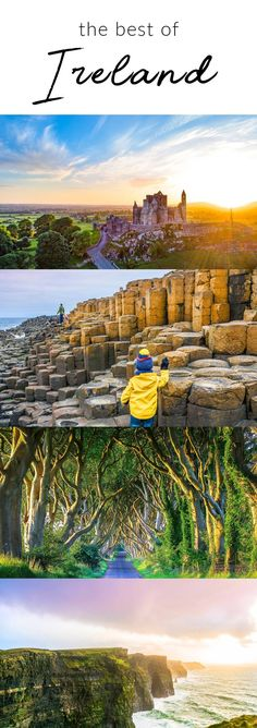 Incredible Ireland. Find the best of Ireland with this perfect Ireland itinerary. #ireland #vacation #europe #travel #wanderlust