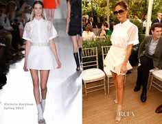 Victoria Beckham In Victoria Beckham – CFDA/Vogue Fashion Fund Event